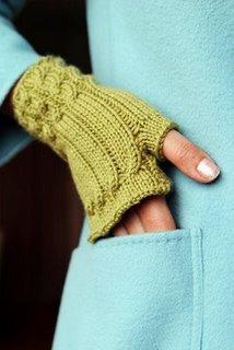 """Mitones, el lado """"casual"""" de los guantes....."""