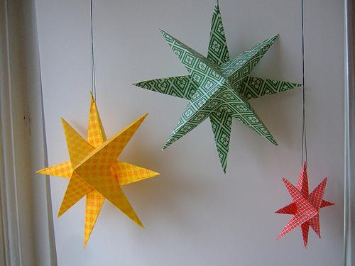 Изготовление звезд своими руками