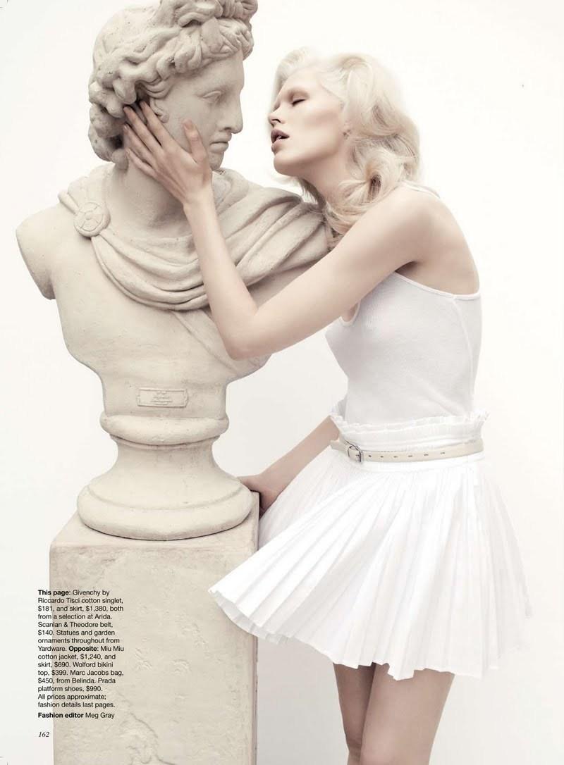 Fashionfaire: Alys Hale by Adrian Mesko for Vogue ...