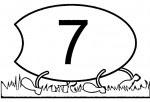 04 8 150x102 Centopéia dos números para crianças