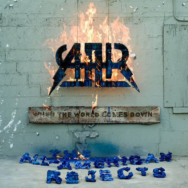 All American Rejects Album Cover When The World. The AAR - When The World Comes