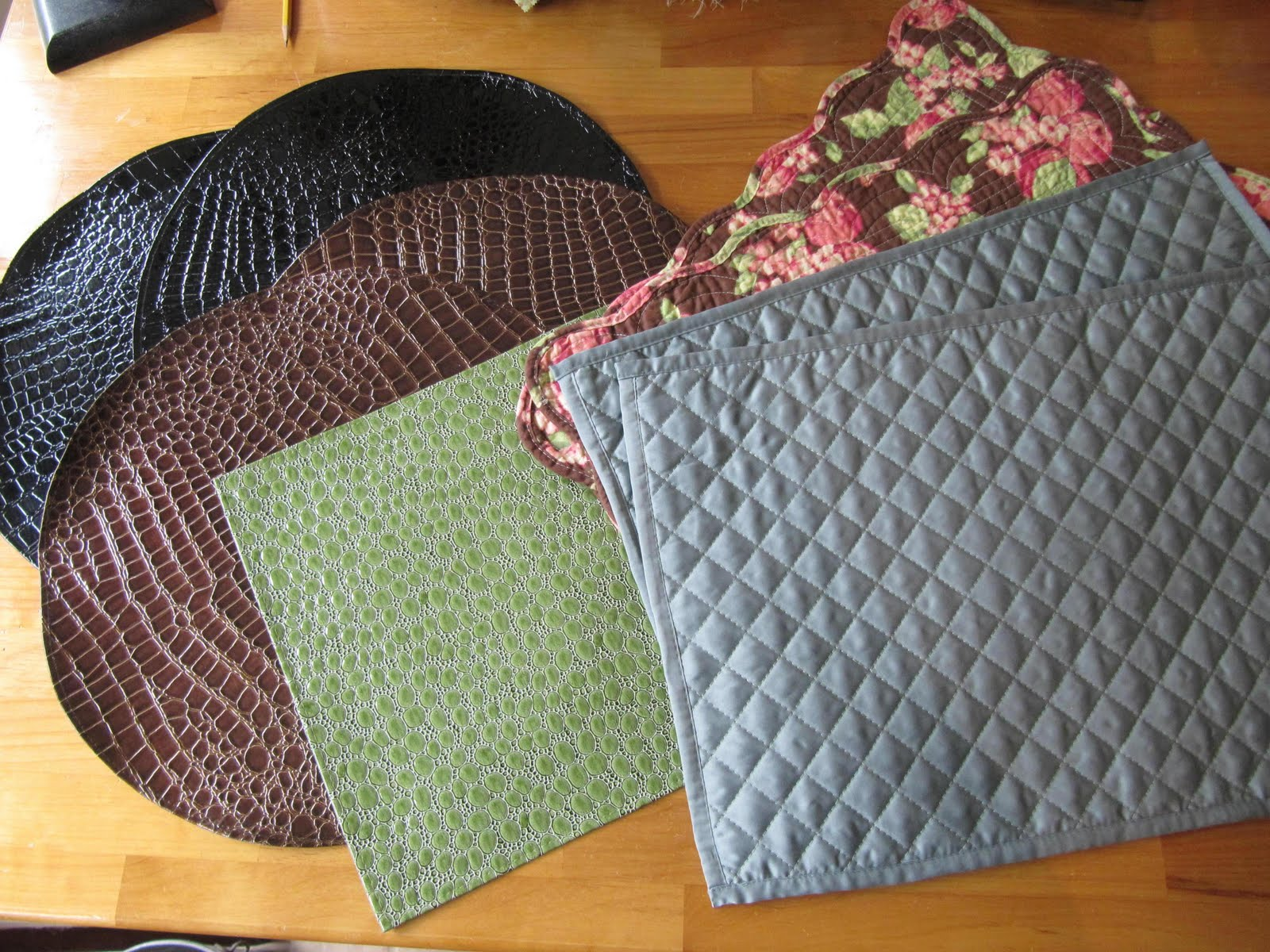 Placemat Purse : Sew Many Ways...: Place Mat Purse...Part 2