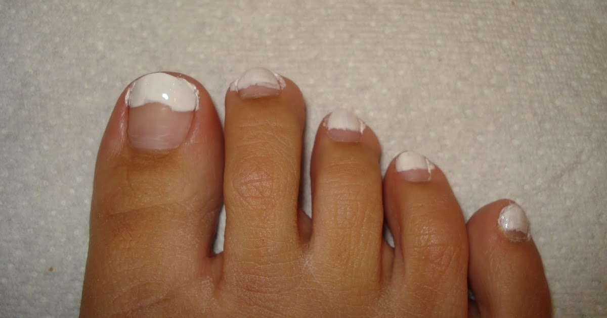 Makeup For Real: How to French Your Toenails