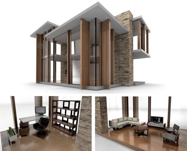 Trendciero casas de mu ecas modernas - Decoracion de casas de munecas ...