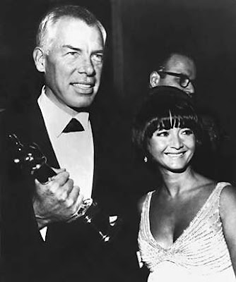 Lee Marvin and Michelle Triola