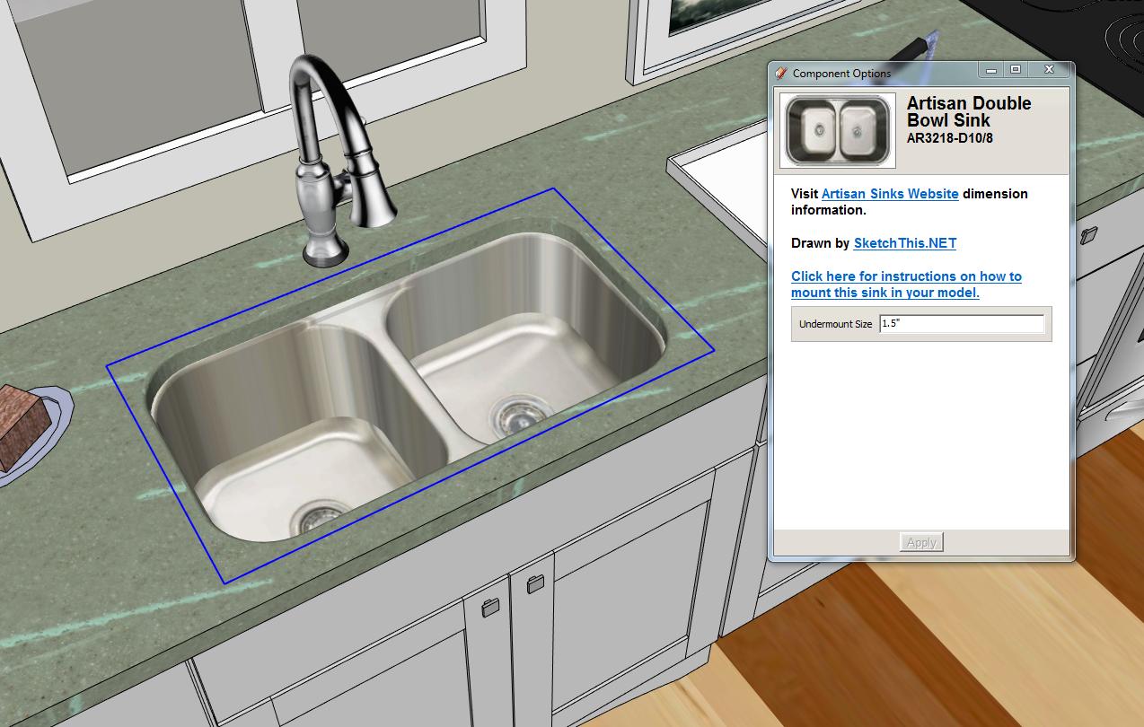 Kitchen Sink Hole Size Zitzat Pertaining To Stylish