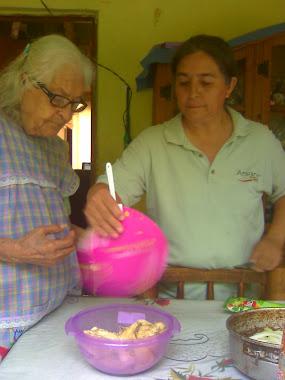 Manuela y Caro
