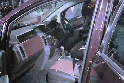 Tata crossover car 'Aria' unveiled at Auto Expo 2010