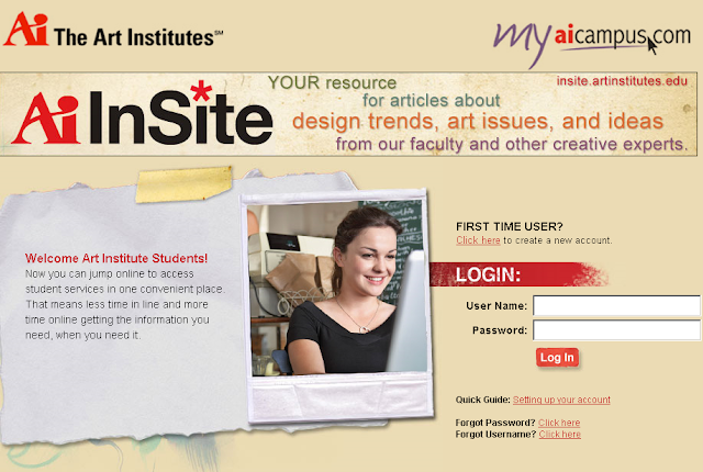 My Ai Campus : Login to MyAICampus.com - Art Institute Online Campus Common Account