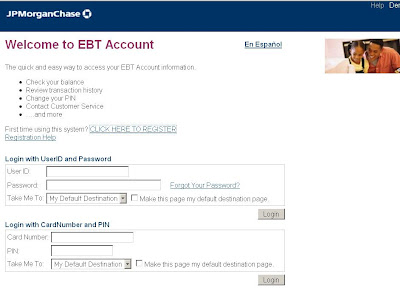 EBTAccount.JPMorgan.com Login - JP Morgan Chase EBT Account Sign in