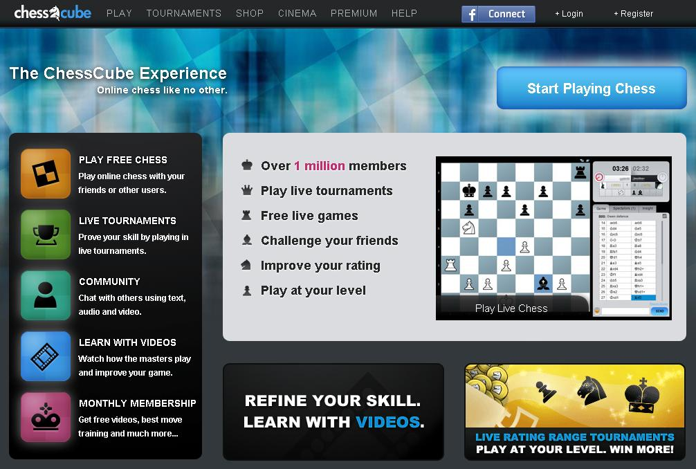 online multiplayer chess with chat