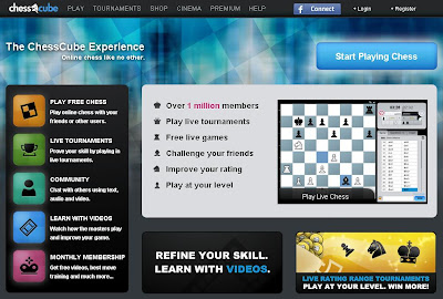 www.chesscube.com - Login to ChessCube to Play &amp; Chat Online