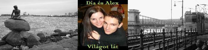 Dia és Alex világot lát