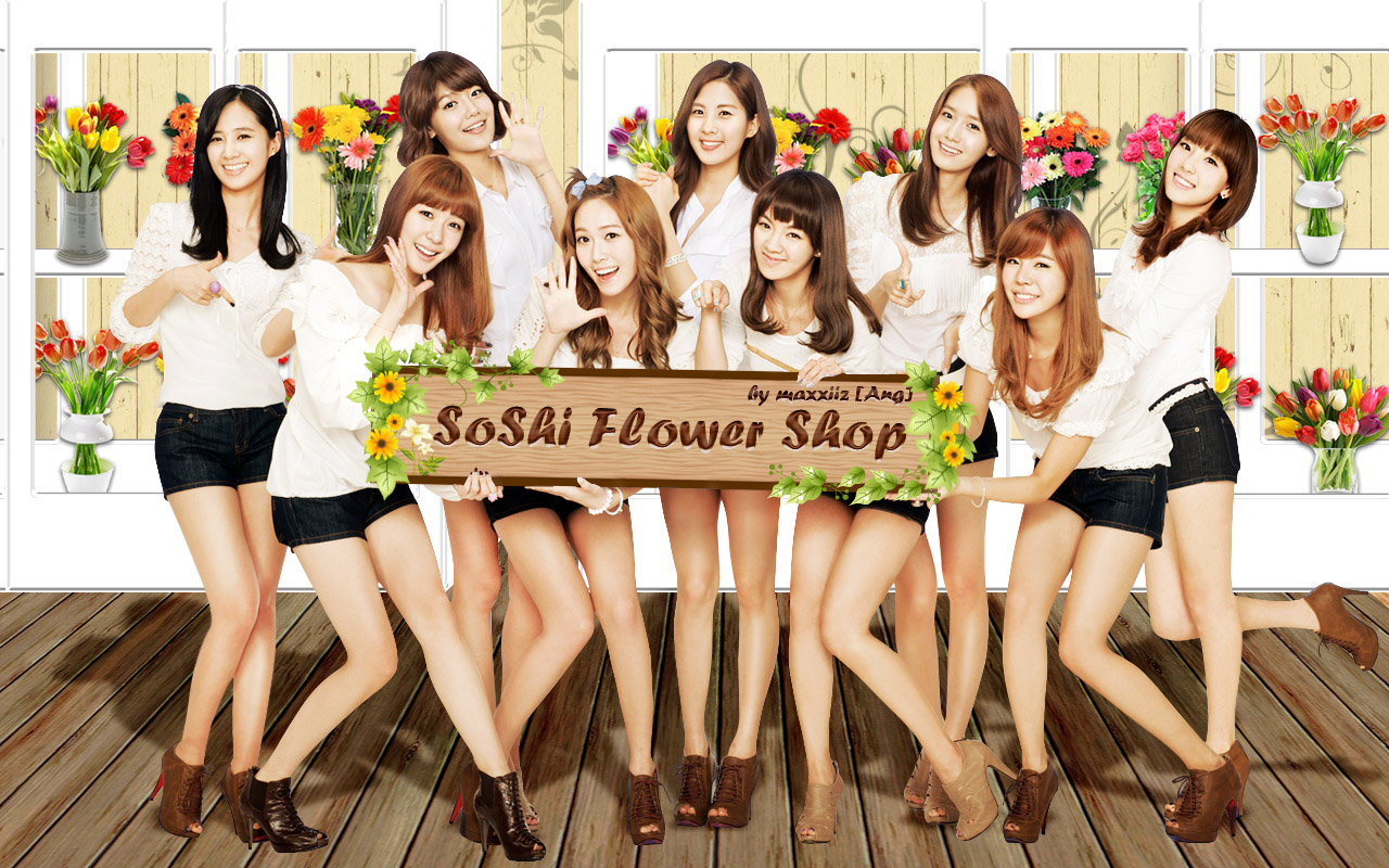 GIRLS' GENERATION- The power of 9! - Page 4 Snsd+wallpaper