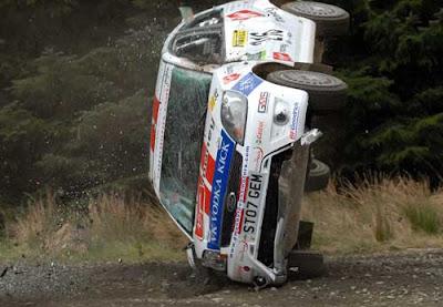 Recopilación de accidentes de Rally