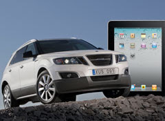 Saab 9-4X, get an Apple iPad or not