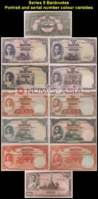 Thailand Series 9 banknote Baht