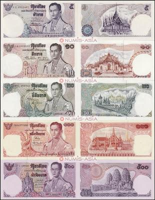 Thailand Series 11 banknotes