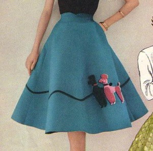 For A Piece Of Apparel So Closely Tied To The 1950s Its Sure Been Hard Find An Original Photo Poodle Skirt From That Era Through Google Images