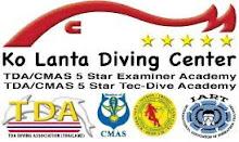 Webpage Ko Lanta Diving Center