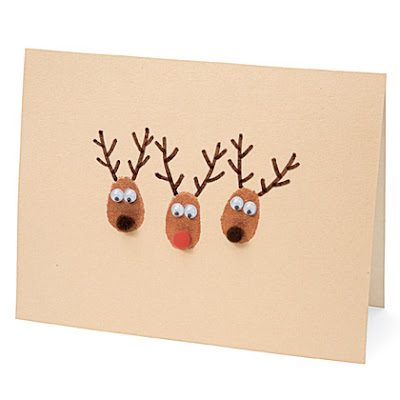 Transforming home christmas cards for Homemade christmas card ideas