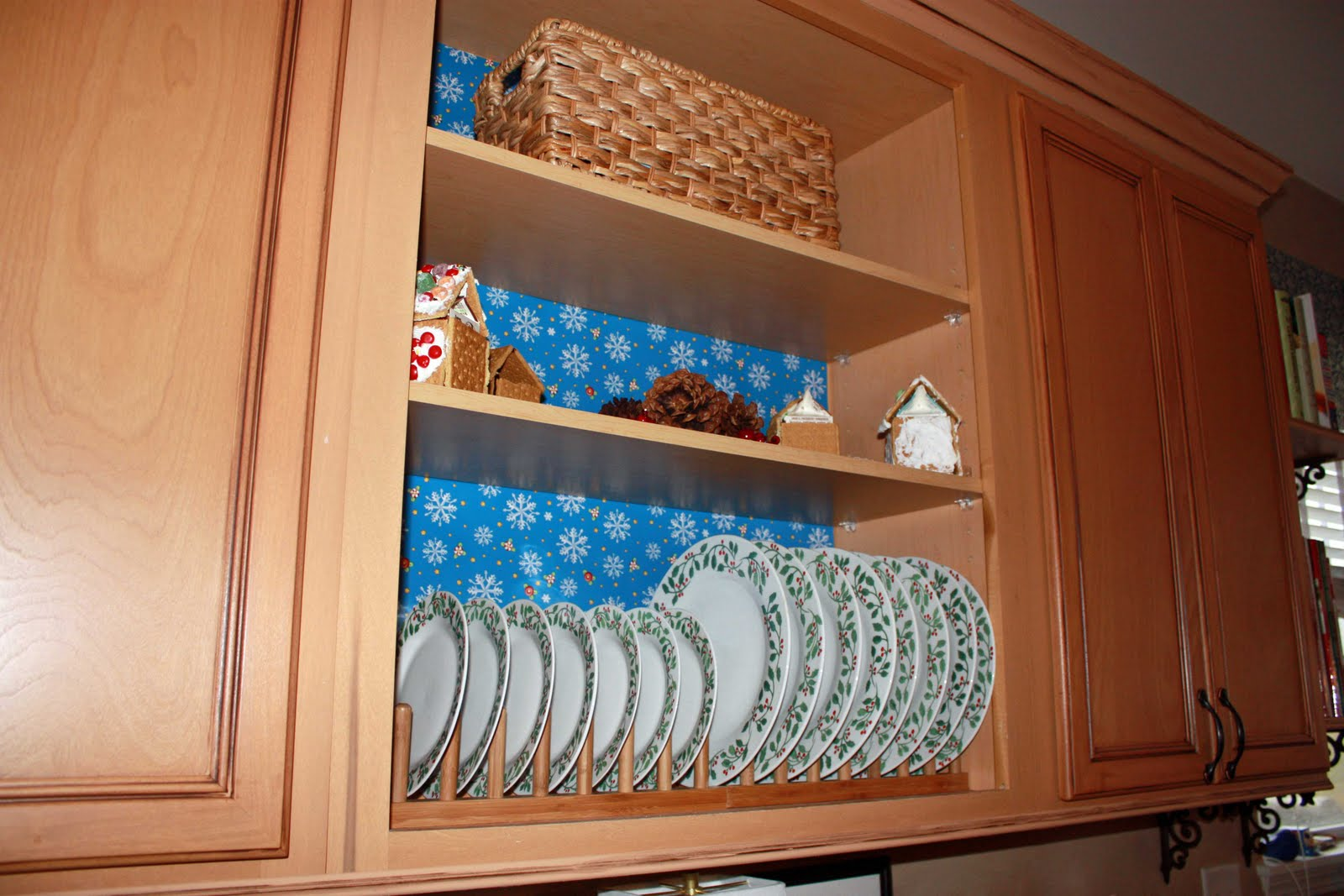 Kitchen CabiPlate Rack Rails