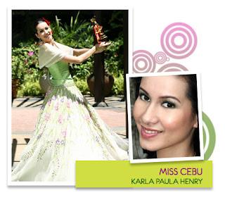 Miss Philippines Earth 2008 - Karla Paula G. Henry (Cebu City)