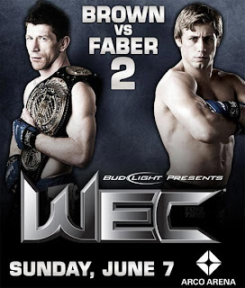 Watch WEC 41 Mike Brown vs. Urijah Faber 2 Live Online Results