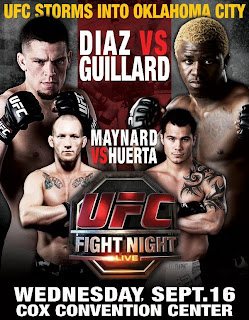 Watch UFC Fight Night 19 Nate Diaz vs. Melvin Guillard Live Online Video