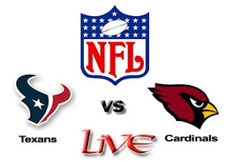 Watch NFL Houston Texans vs. Arizona Cardinals Live Online