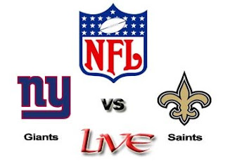 Watch NFL New York Giants vs. New Orleans NFL Live Online