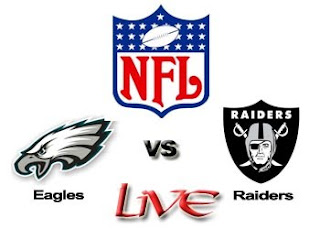 Watch NFL Philadelphia Eagles vs. Oakland Raiders Week 6 Live Online