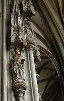 [Pillar+Saint+in+St.+Stephan's]