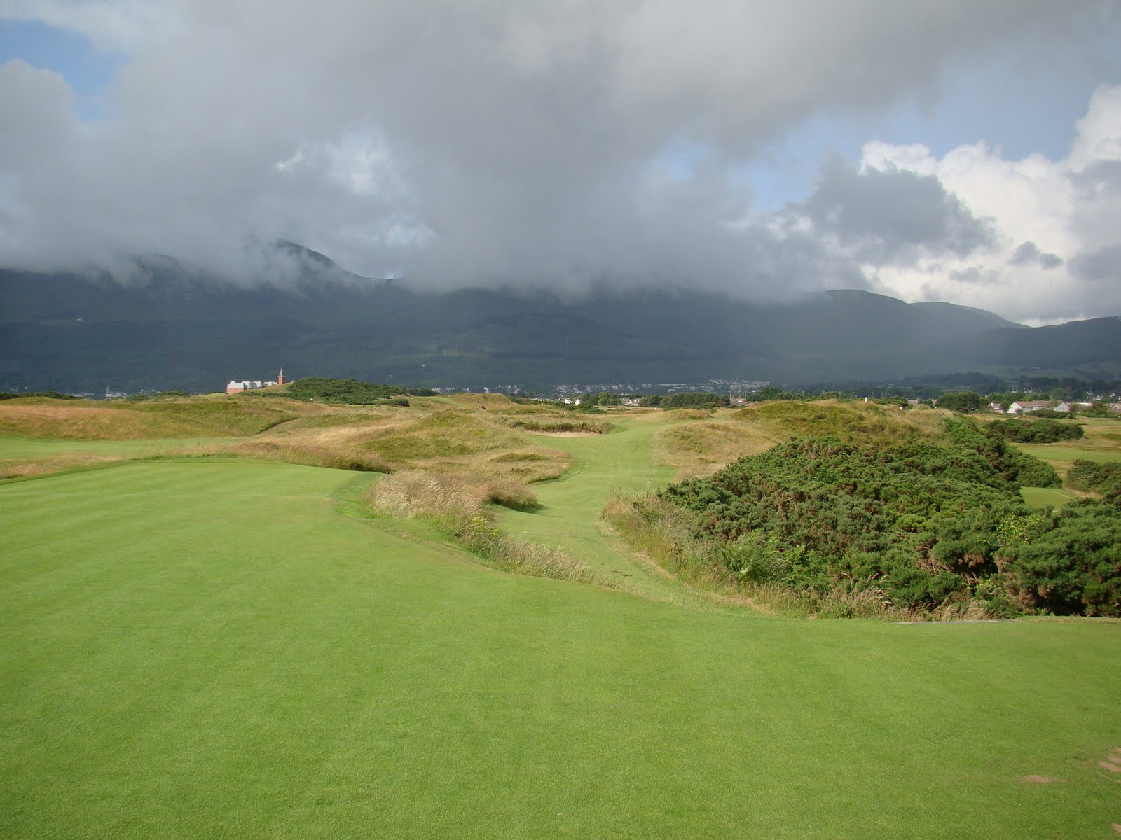 Golf Pic Of The Week Royal County Down Par 3 7th