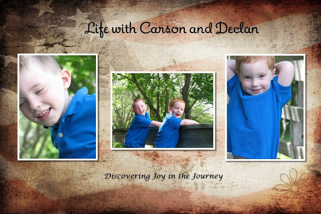 Carson and Declan Times