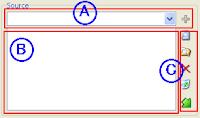 筆者為了方便說明燒錄時如何選取來源檔案而弄的分區說明圖