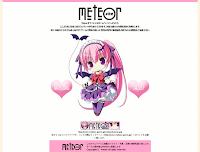 新 Meteor 網站首頁 2010.03.21 時的畫面擷圖