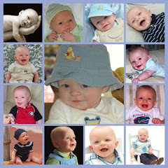 Noah collage: Birth to 1 year