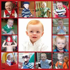 Noah collage: age 1-2