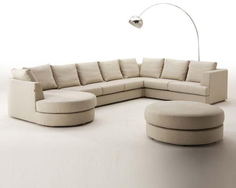 Modern Furniture: Boston Grande Sectional Sofa