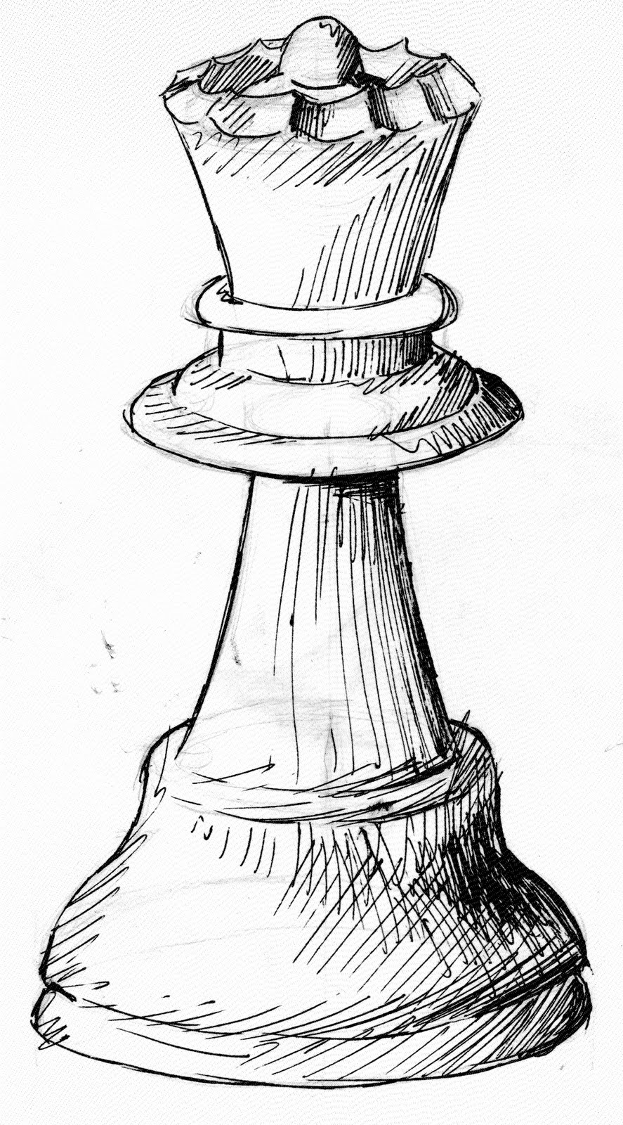 How To Draw Chess Pieces