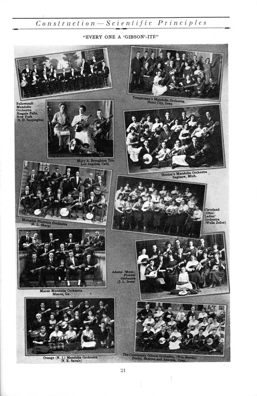Page 21 Gibson Mandolin Catalog M: See right side second photo from bottom