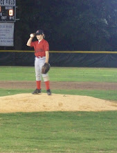 Hunter on the mound