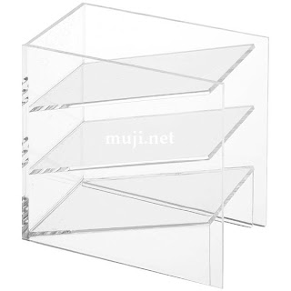 Muji Mini Acrylic Shelves
