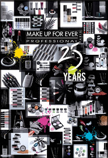 Make Up For Ever 25th Anniversary $25 Deals