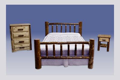 Log bedroom furniture bedroom furniture high resolution for Make your own bedroom furniture