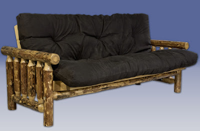 Trundle Frame  on Amish Rustic Log Furniture  June 2010