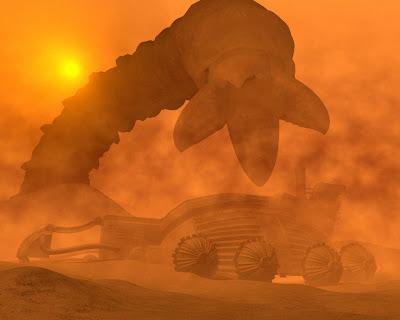 MISSION RANGO D encontrar un niño perdido ARENA Dune+sandworm