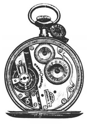 Milenioscopio mecanismo interno del reloj de roskopf - Mecanismo reloj pared barato ...