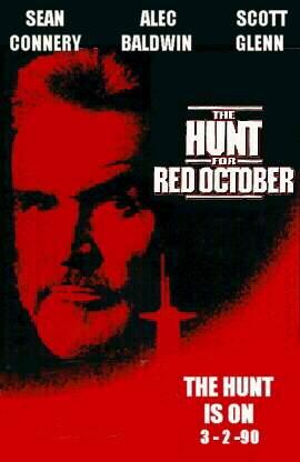 cacada ao outubro vermelho poster02 Caçada ao Outubro Vermelho   Dublado   Assistir Filme Online